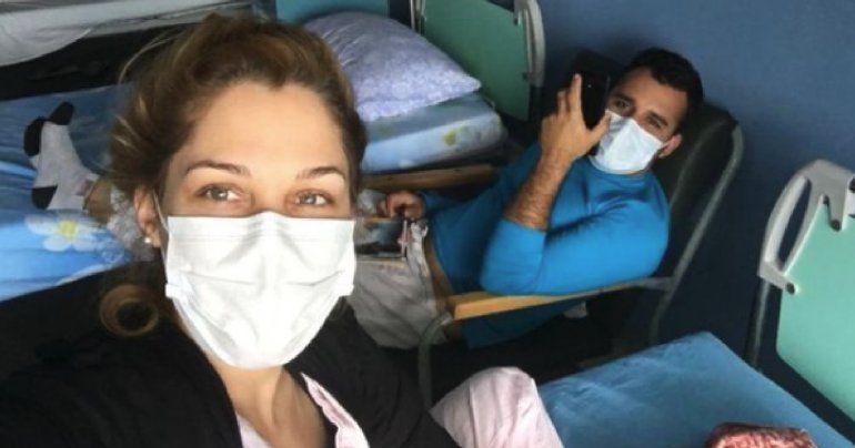 Conocida actriz cubana  ingresada por Covid-19 junto a su esposo