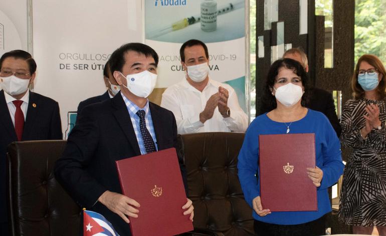 El Gobierno cubano vende cinco millones de dosis de Abdala a Vietnam antes de vacunar a toda la población