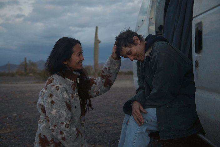 Nomadland gana 4 BAFTA, incluyendo mejor película