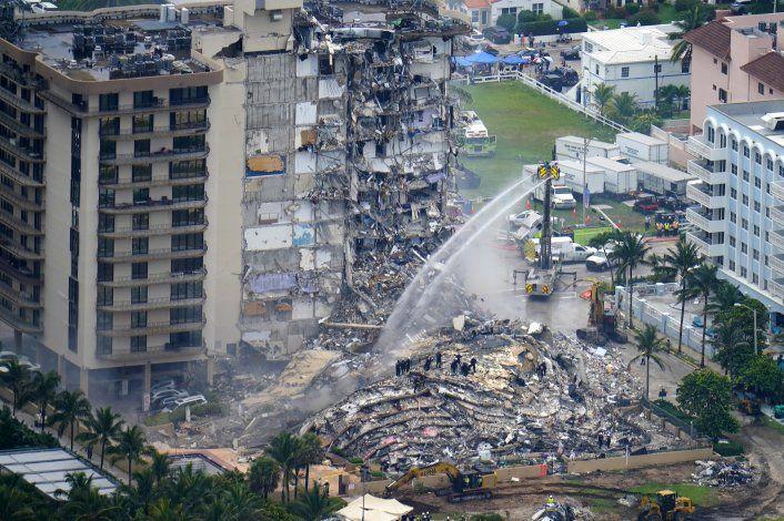 Video muestra daños estructurales en el Champlain Towers South