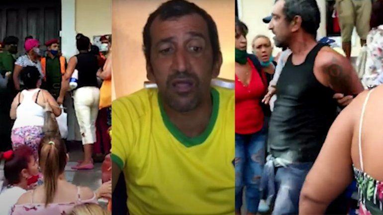 Realizan Juicio sumario a cubano por decir que en EE.UU. no se hacen colas