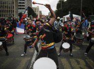 protestas en colombia dejan mas de un centenar de heridos