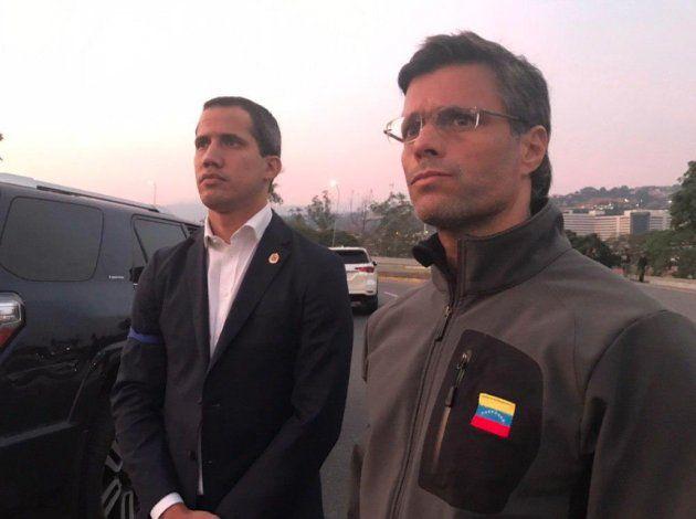 Guaidó a los militares: ¿La salida de Maduro será por las buenas o por las malas?