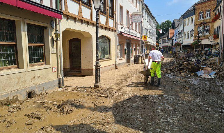 Alemania: pobladores tuvieron poco tiempo para desalojar