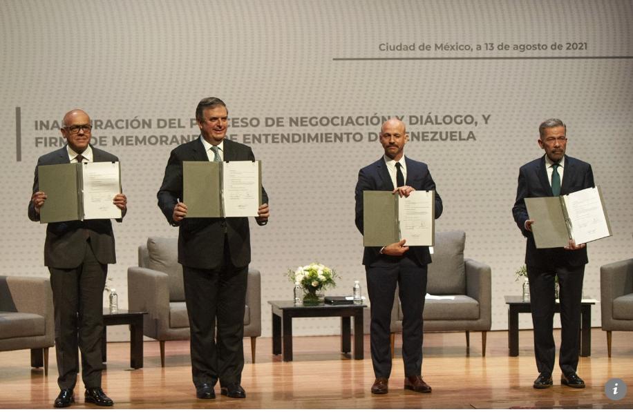 la justicia y los recursos de venezuela centran segunda ronda de dialogo en mexico