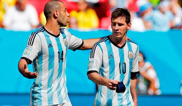 Messi envía un cariñoso mensaje a Mascherano y Gago por su retirada
