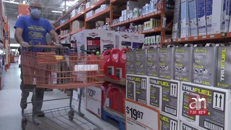 Comienza semana de venta de suministros libres de impuestos para la temporada de huracanes en Florida