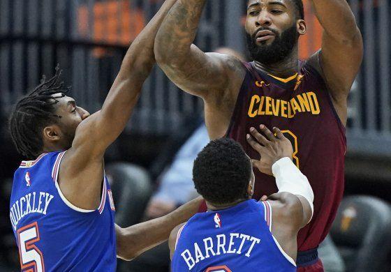 Drummond logra doble doble; Cavs superan a Knicks