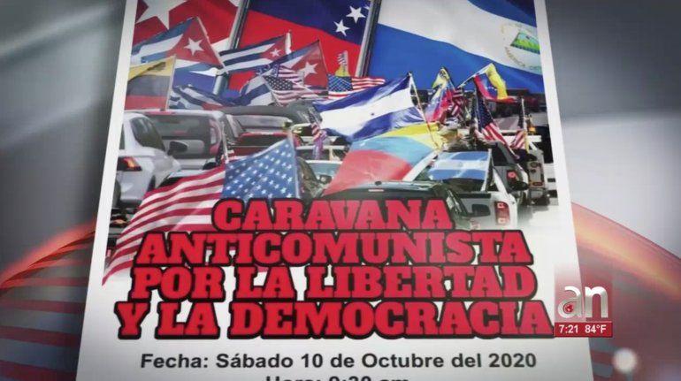 Convocan Caravana Anticomunista en Miami para el próximo 10 de octubre