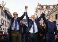 candidato centroizquierdista gana la alcaldia de roma