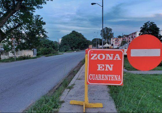 Cierran barrios en Arroyo Naranjo por contagios de COVID-19