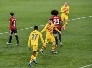 barcelona vence al osasuna y se afianza como 2do en espana