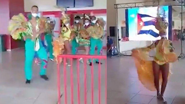 A bailar y a gozar, que llegaron los fulas: Así fueron recibidos en Varadero los primeros turistas extranjeros en siete meses