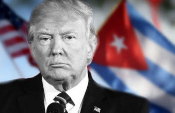 Trump resalta el endurecimiento de su política hacia Cuba en su visita a Miami