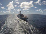 iran envia navios de guerra al atlantico