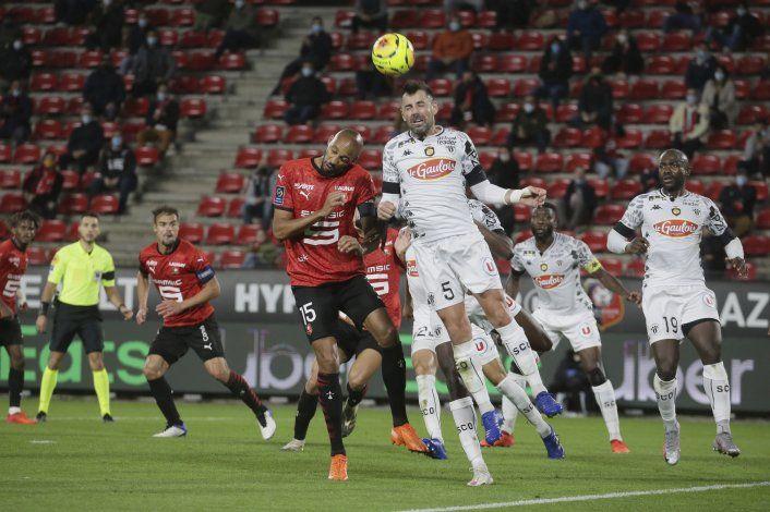 Rennes cae 2-1 ante Angers y pierde la condición de invicto