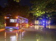 granizada provoca inundacion, heridos en suroeste alemania