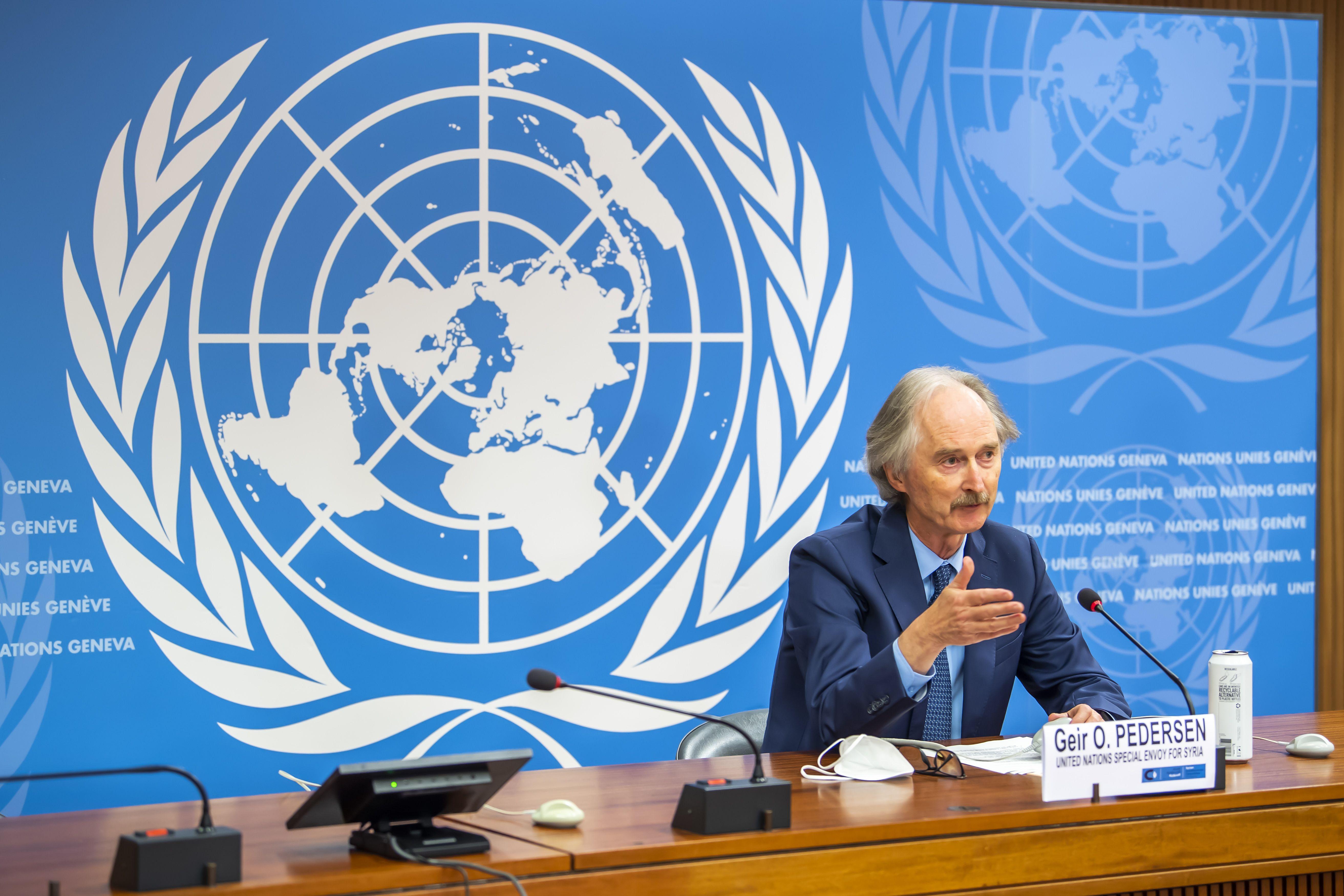 onu: gobierno y oposicion sirias redactaran constitucion