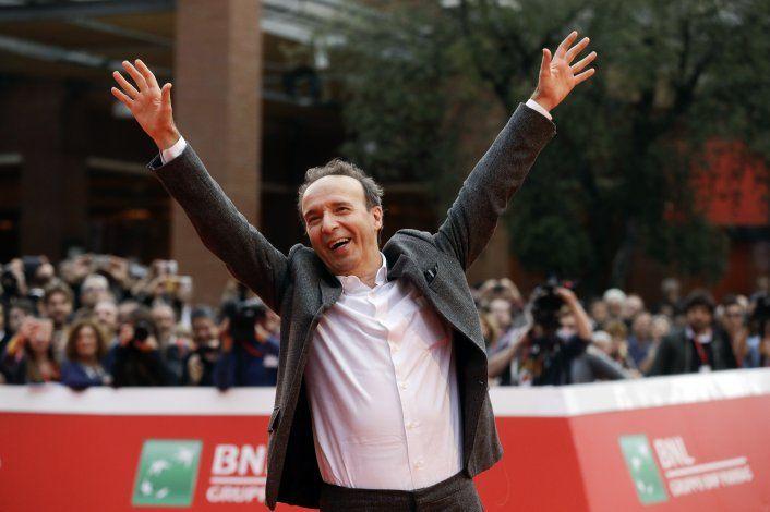 Venecia dará premio a la trayectoria a Roberto Benigni