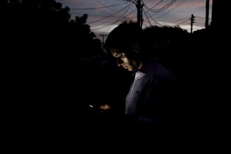 Mega apagón rojo dejó sin luz a Caracas y varios estados de Venezuela.