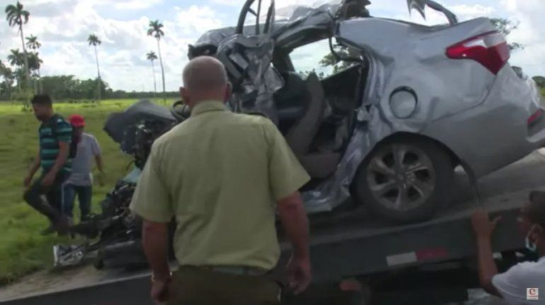 VIDEO: Muere un cubanoamericano en accidente de tránsito en Camagüey
