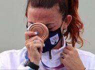 san marino gano la primera medalla de su historia y se convirtio en el pais con menor poblacion del mundo en subirse al podio de los juegos olimpicos