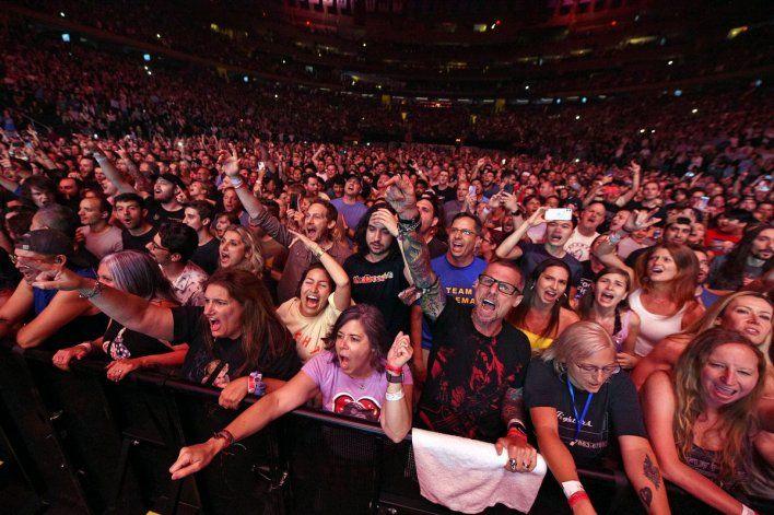 El concierto se llevo a cabo en el Madison Square Garden