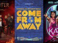 estrenos: ?kate?, ?come from away? y los premios mtv