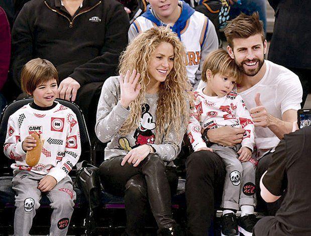 Shakira muestra el integrante de su familia