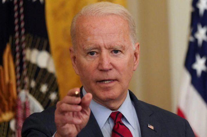 Biden aseguró que el gobierno federal está listo para ayudar a las víctimas