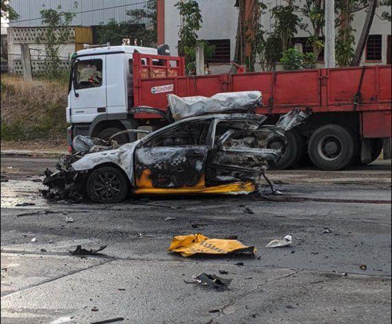 Choque masivo en La Habana deja al menos un muerto y varios heridos