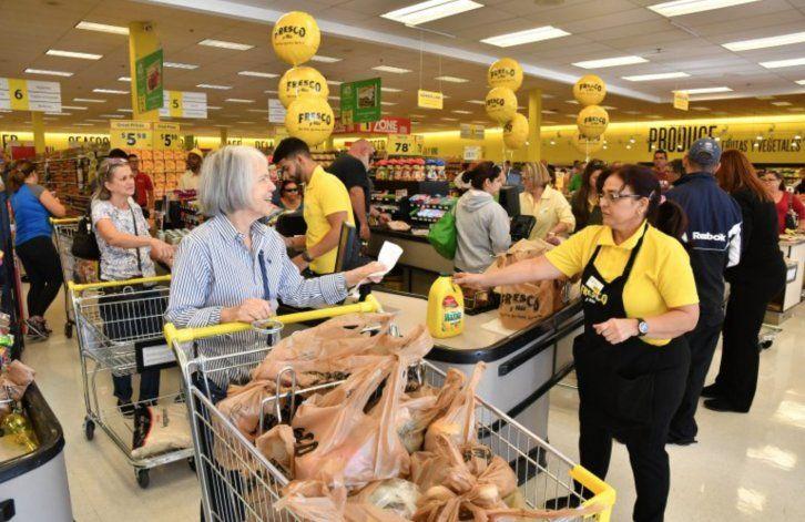 Mercado Fresco y Más negó devoluciones de algunos productos comprados por el huracán
