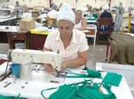 a 3 meses de su arrancada, la primera fabrica cubana de nasobucos no ha comercializado ninguno