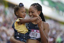 con 35 anos, allyson felix ira a sus 5tos juegos olimpicos