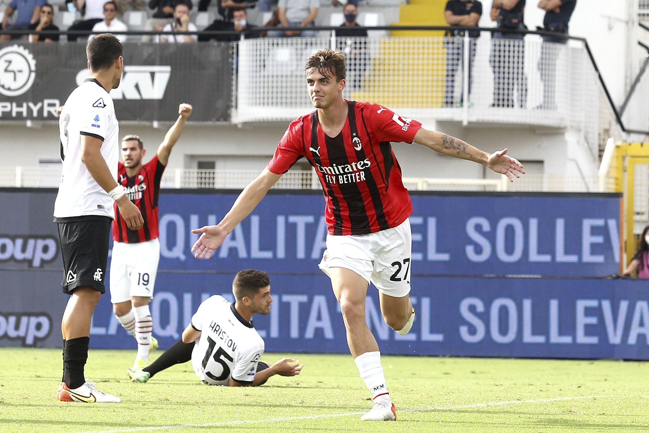 Maldini de 3ra generación anota en liga italiana
