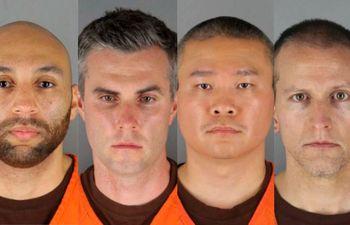 Caso George Floyd: cuatro policías se declararon no culpables
