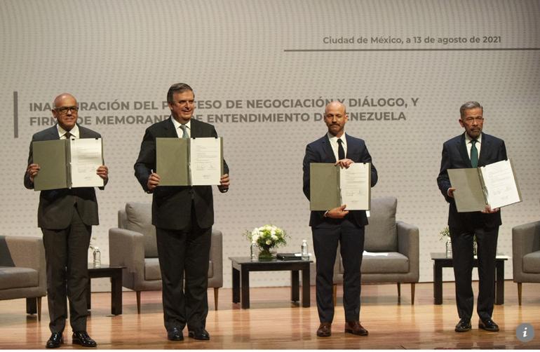 La justicia y los recursos de Venezuela centran segunda ronda de diálogo en México