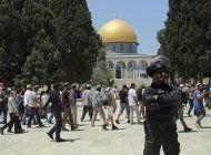 judios visitan disputado sitio sagrado en jerusalen