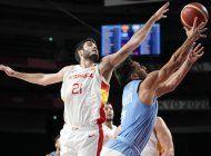 espana deja a argentina al borde del abismo en el baloncesto