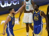 green firma triple-doble y warriors se vengan de hornets