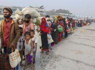 barco con refugiados rohinya esta a la deriva, alerta la onu