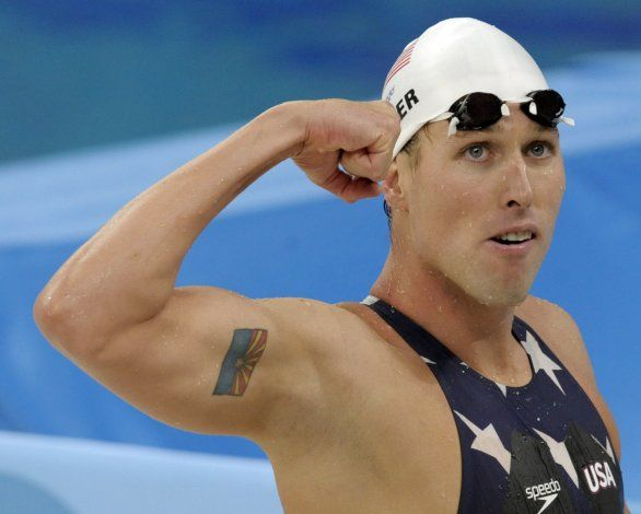 Nadador olímpico acusado en asalto del Capitolio