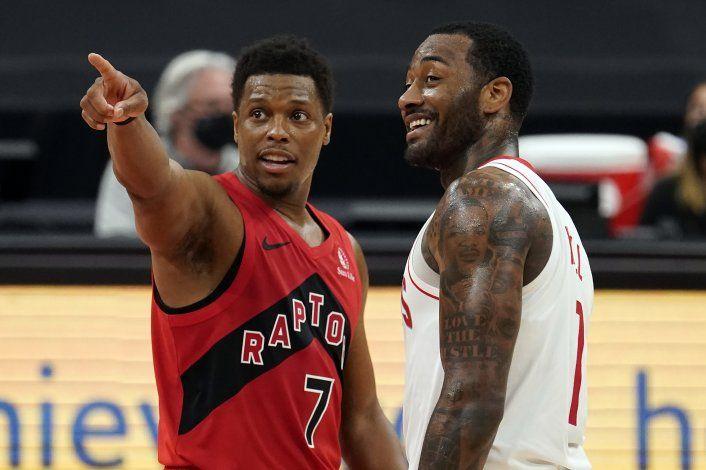 Diezmados Raptors vencen a Rockets, que hilan 10mo revés