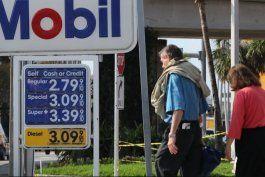 el precio de la gasolina en florida caen por segunda semana consecutiva