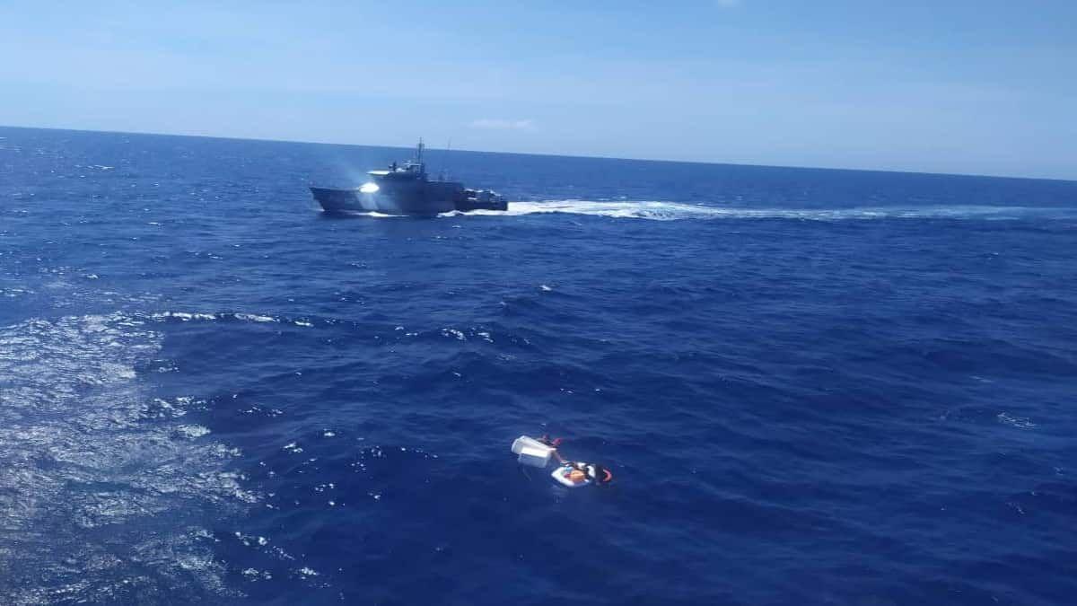 cinco son los que aun siguen desaparecidos tras naufragio en la tortuga