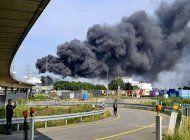 una explosion en zona industrial remece leverkusen, alemania