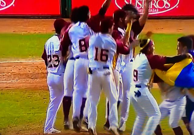 venezuela se corono campeon del mundial de beisbol sub 23