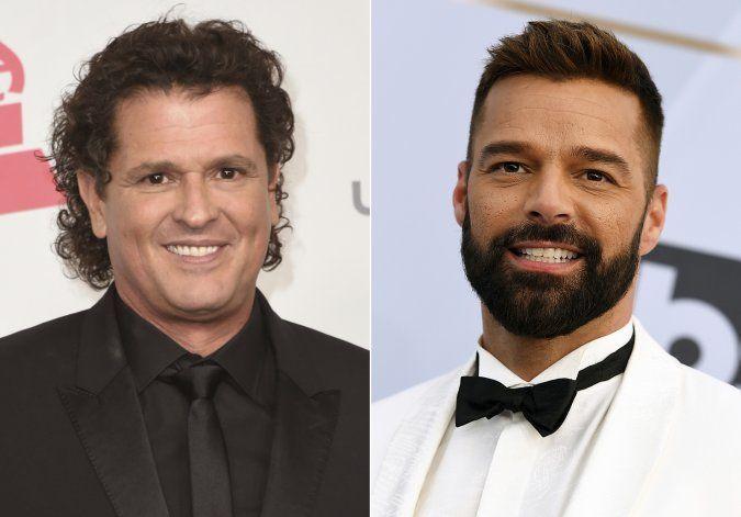 Carlos Vives y Ricky Martin le cantan juntos a Puerto Rico