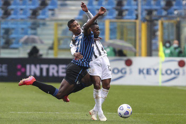 Juventus cae en Atalanta y pone en peligro boleto Champions
