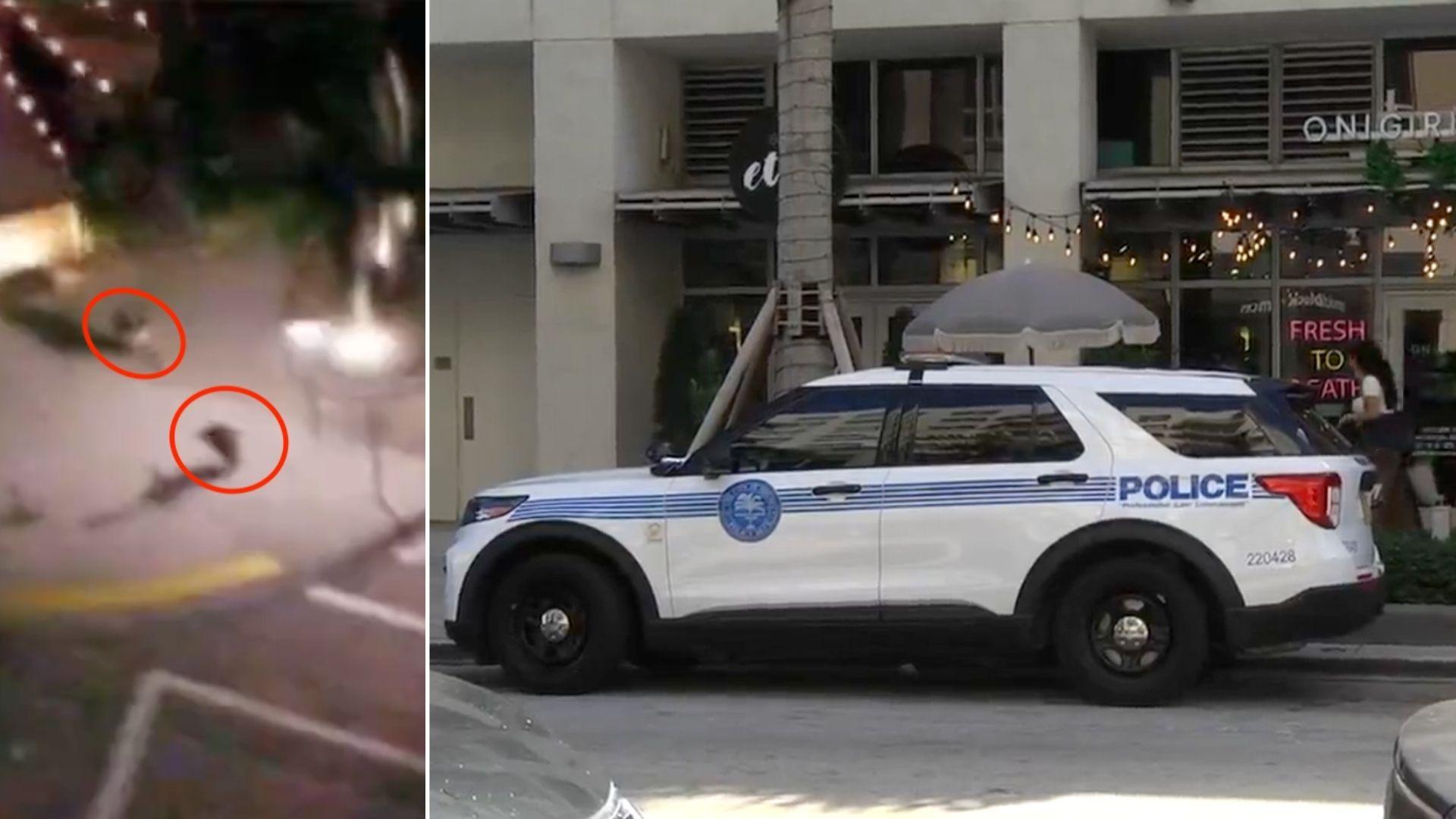 tiroteo en el midtown de miami alcanza a una mujer que trabajaba en un restaurant de la zona